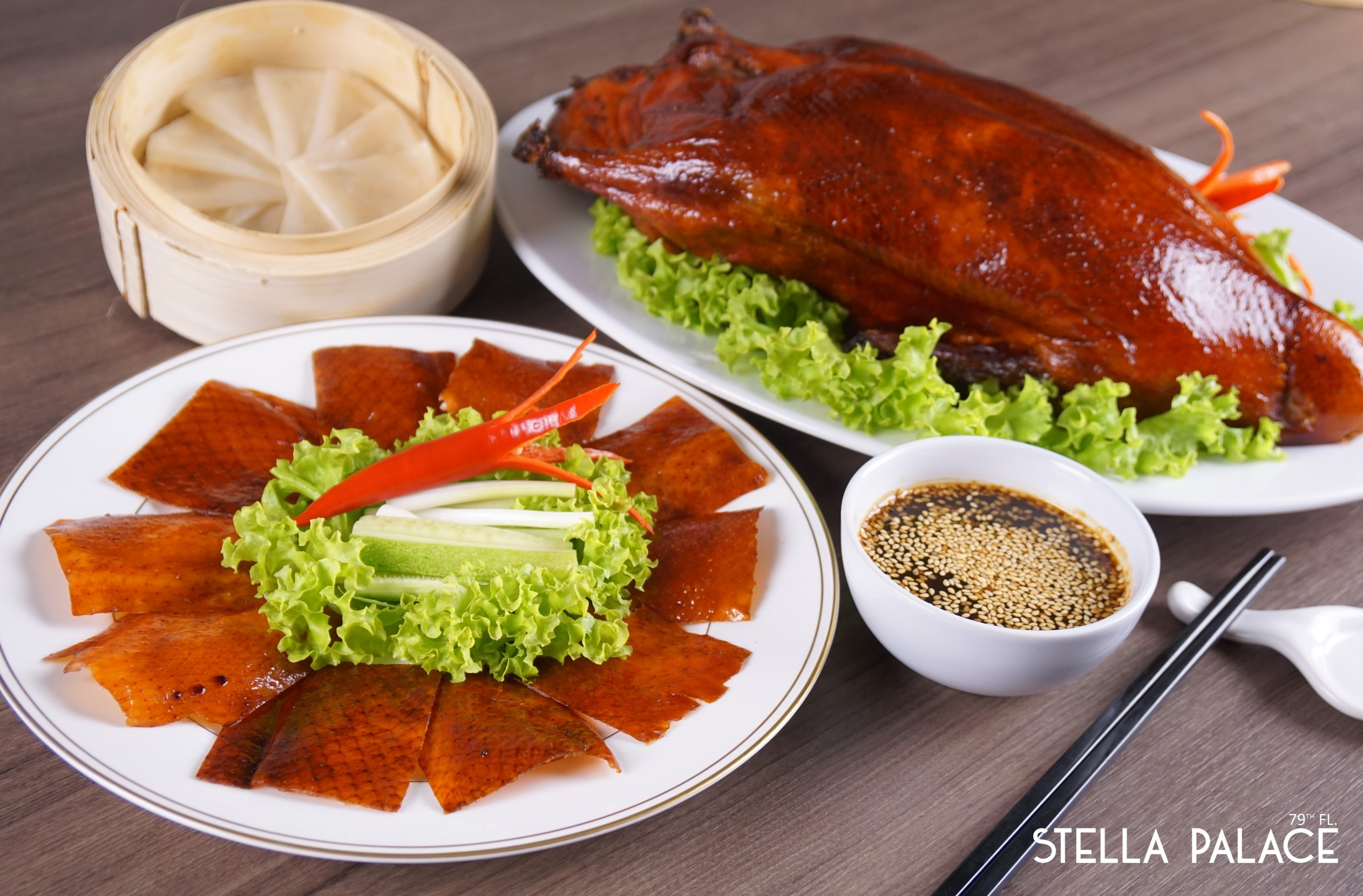 Stella Palace Restaurant at Baiyoke Sky Hotel