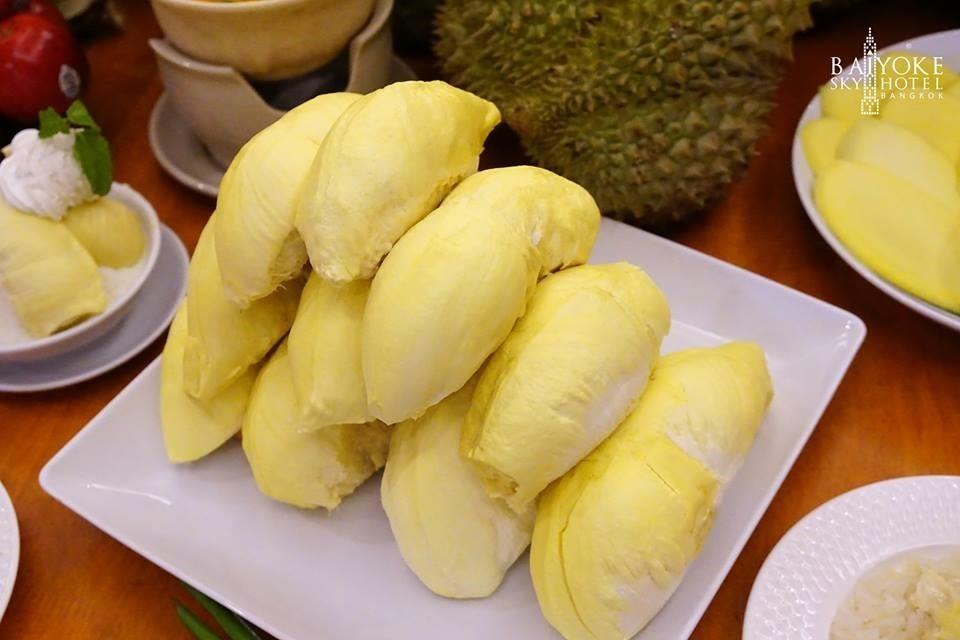 Fruit Buffet at Baiyoke Sky Hotel