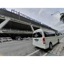 Van rental with driver in Bangkok
