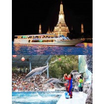 COMBO Ticket Safari World + Chao Phraya Princess Cruise