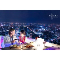 Bangkok Balcony at Baiyoke Sky Hotel