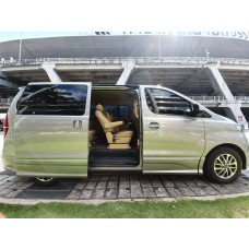 Hyundai H1 rental with driver in Bangkok