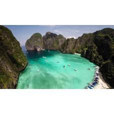 Phi Phi island + Bamboo island tour by Speedboat
