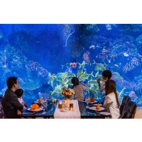 Copper Aquarium Restaurant at Amaranta Hotel Bangkok