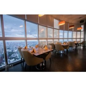 Baiyoke Crystal Grill Restaurant at Baiyoke Sky Hotel