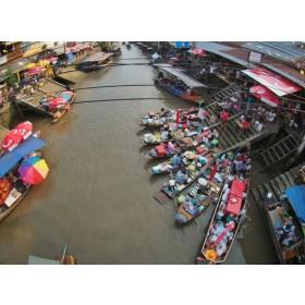 Risky Market and Amphawa Floating Market