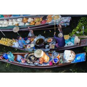 Damnoen Saduak Floating Market Join Tour