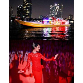 COMBO Ticket Yodsiam Boat + Calypso Cabaret Show