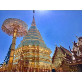 Half Day Doi Suthep and Meo Village