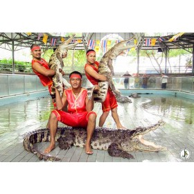 Million Years Stone Park and Crocodile Farm Pattaya