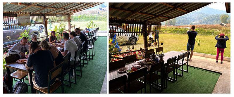 Lunch Trekking Pha Dow Seaw in Chiang Mai