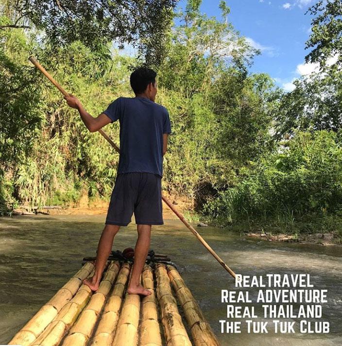 Bamboo Rafting in Chiang mai Thailand