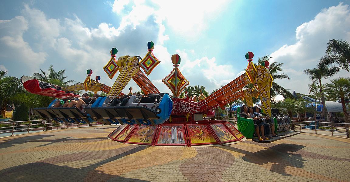Siam Park City Bangkok Thailand Mega Dance