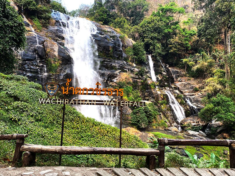 Wachirathan Waterfall in Chiang Mai